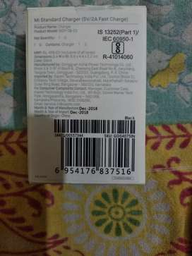 MI adapter ₹320 sealed pack with bill .6 months warr MI service center