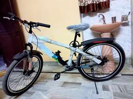 New and best cycle of double disc brake
