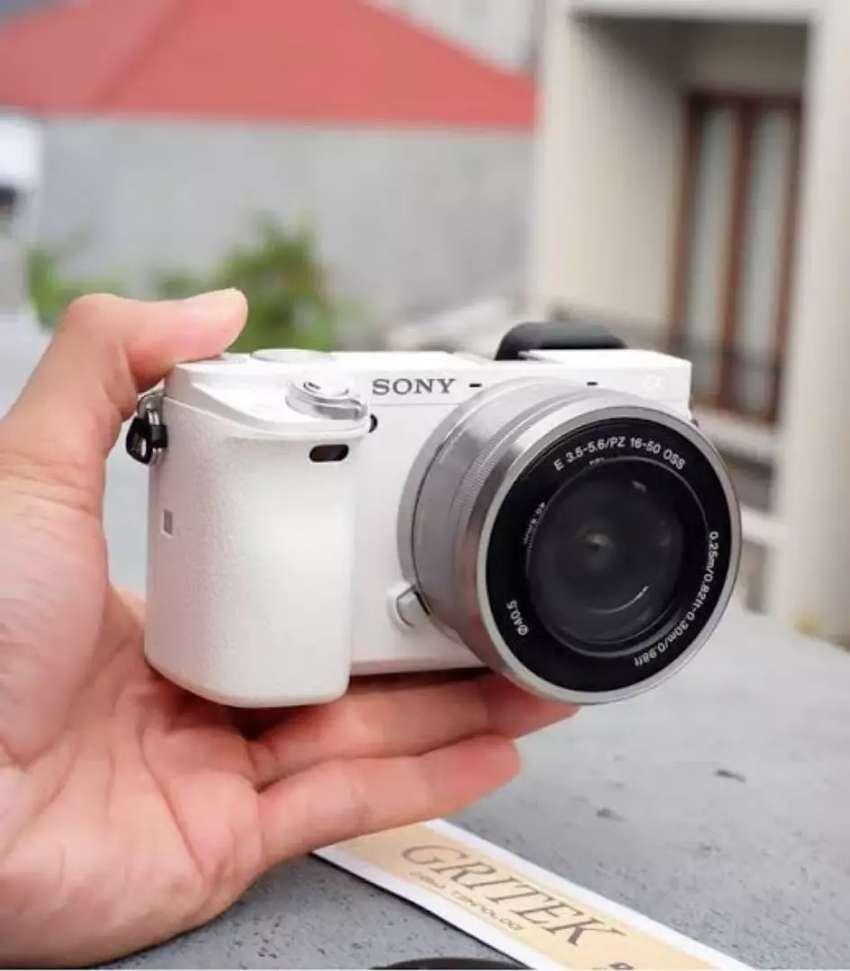 Kredit Kamera Mirrorless Sony A6000 Termurah Banyak Bonus 0
