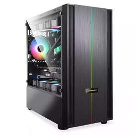 Venom RX Thanos mATX case rakitan RGB