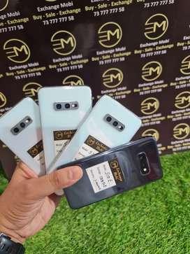 Samsung S10 E - 128gb -- All Colour -- bill & Warranty -- All Accessor