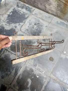 Kapstok Antik Kuno Primitive thn 30an