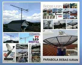 Instalasi pemasangan parabola dan antena TV digital