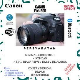Kredit Kamera Canon 80D Garansi Resmi 1thn
