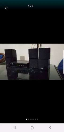 Bose cube speakers red line