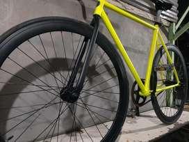 Sepeda Fixie Custom, Dipake cuma sekali pemakaian pribadi