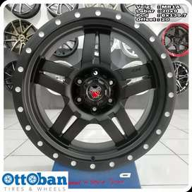 Velg Fortuner Everest Triton Pajero Mamba MR1A R20X9 hole 6x139.7 ET20