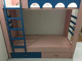 A bunkbed for children