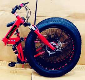 All New Fat Tyre Foldable Cycles Available in Ahmedabad