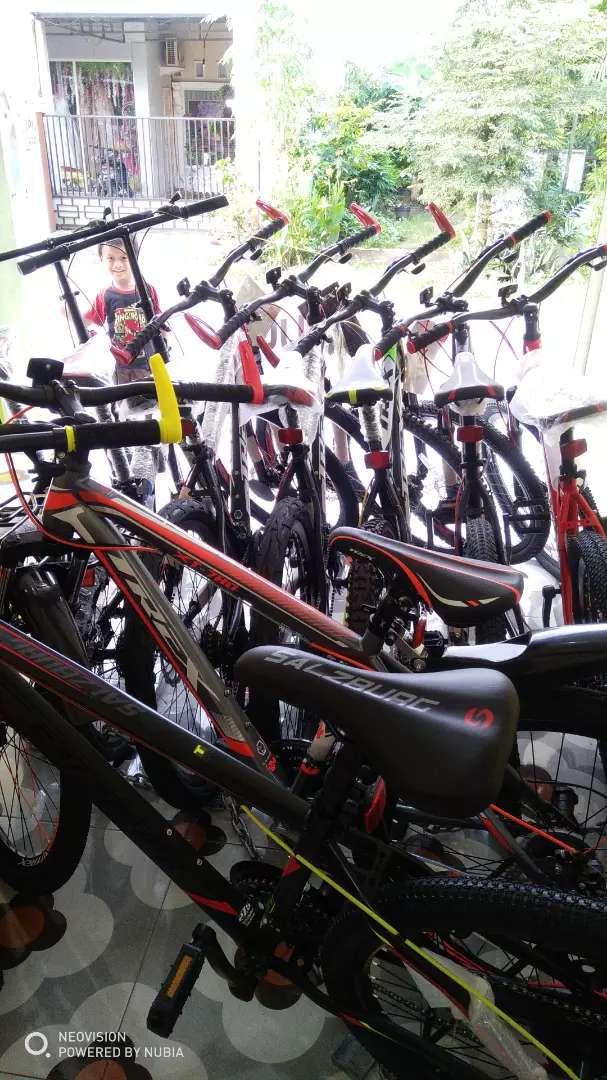 Promo Beli Sepeda Dapat Gratis baju Jersey Sepeda