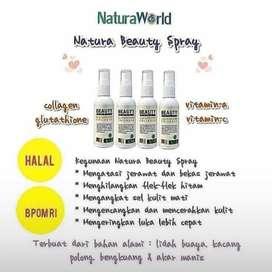 Di jual Natura Beauty Spray