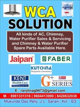 Chimney, AC , waterpurifier servicing