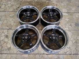 Velg Mobil B-55 Racing Ring 17x7,5/8,5 ET38/33 pcd 4x100, 4x114