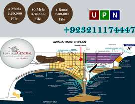Gwadar Central 5 Marla Plot File Available For Sale
