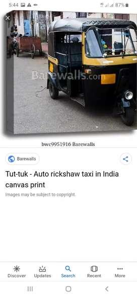 Bajaj diesel  Auto Taxi permit