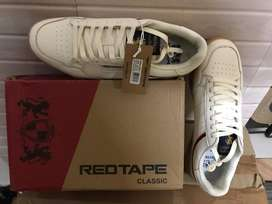 Rupees 5695 size 9 red tape sneaker shoes brand new