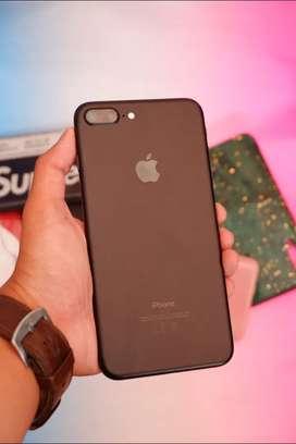 Iphone 7 plus 128gb Blackmatte Garansi Resmi TAM