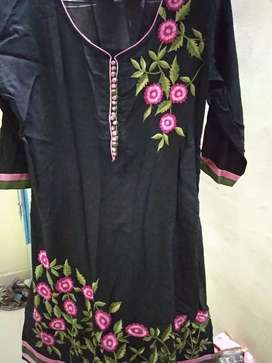 Attractive black kurti