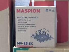 rdy kipas angin hisap ceiling exhaust fan atap maspion 6 inc mv 16ex