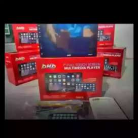 Mantul dhd 2din layar datar 7inc fulglass bisa bluetooth+camera hd