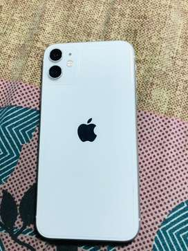 Iphone 11 white colour 64 gb true tone & face id perfectly working