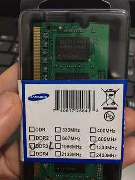Ram DDR3L 4Gb (190rb)