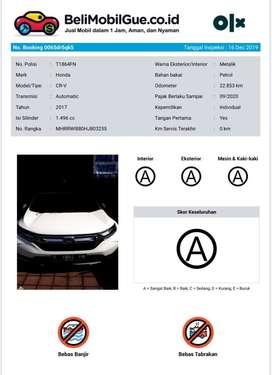 Honda CRV 1.5L Prestige Turbo 2017