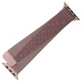 Apple Watch Strap Pink Gold, iwatch - Milanese Mesh Strap for Apple wa