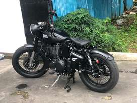 Royal Enfield Classic 500 Black Stealth Modified