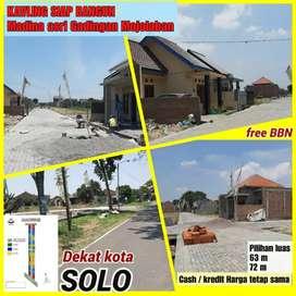 Tanah dijual dekat Pasar Plumbon Mojolaban