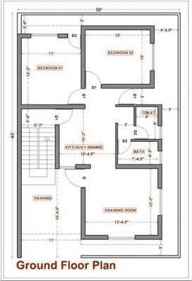 Arctechture drafting and 2d and 3D plan डिज़ाइनर