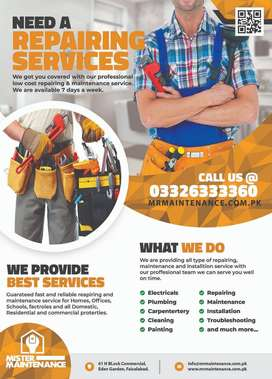Plumber, Electrician, Carpenter, Ac Technician, Painter, Handyman,