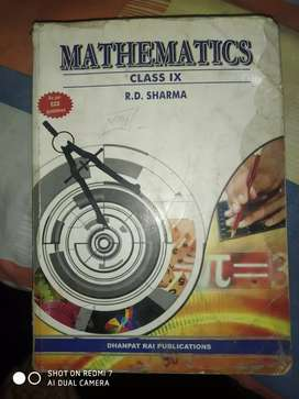 Class 9th RD sharma mathematics