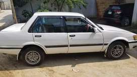 Alloys rims,  duplicate copy , non accidental car, 1986 model