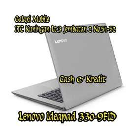 DiKredit Laptop Lenovo Ideapad 330-9FID Proses Cepat 3menit Japri