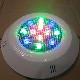lampu kolam renang led RGB warna warni 12V 18 Watt 18W ID84
