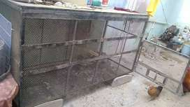 Cage 3fit by 6fit metal and heavy