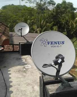 PARABOLA Antena Gratis Tanpa Bulanan