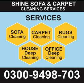 ***Sofa & Carpet Cleaning***