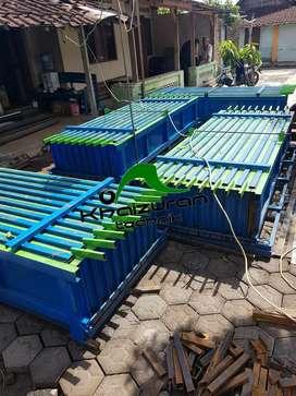 Cetakan beton panel pagar barang terlaris