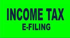 E FILING OF INCOME TAX - CHENNAI