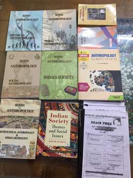 Upsc- anthropology - set of books ( rate negotiable)