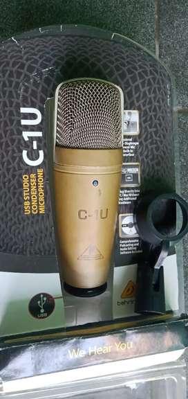 Mic condensor recording behringer c1usb