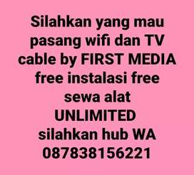 Wifi dan tv cable by FIRST MEDIA