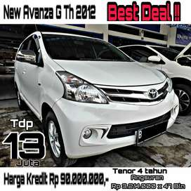 Toyota New Avanza G Th 2012 A/T Km 97 Rb Full History Record Toyota !