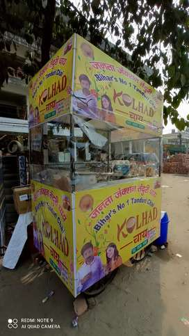 Khllad chai stall, with all equipment. (Sabhi saman ke saath).