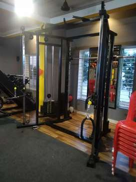Commercial GYM setup in budget with exchange offer after 2year