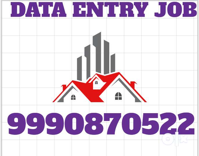 OFFLINE/Online Data Entry Job Part Time WORK ON MS.WORD 999O87O522 0