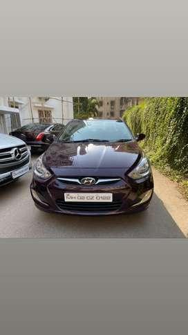 Hyundai Verna VTVT 1.6 AT SX Option, 2013, Petrol