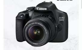 Kamera DSLR Canon EOS 1500D Promo Kredit Free 1X angauran